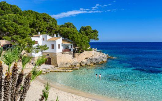 Cala Gat at Ratjada, Mallorca - beautiful beach and coast